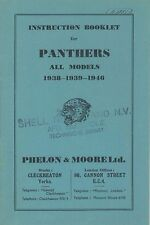 1955 PANTHERS ALL MODELS 1938-1939-1946 BETRIEBSANLEITUNG HANDBUCH OWNERS MANUAL