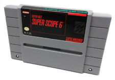 SNES SUPER SCOPE 6 - Tested - CIean - 100% Working- Game ONLY Authentic nintendo