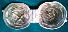 Original antique pewter ice cream mold, beautifully shaped & good condition.