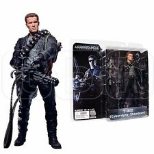 "NECA 7"" Terminator 2 S3 T-800 Action Figure Cyberdyne Showdown Model Toy Gift"