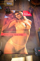 TRIUMPH A LINGERIE 4x6 ft Bus Shelter Original Vintage Sexy Advertising Poster