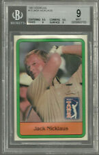 Jack Nicklaus  1981 Donruss #13 Rookie RC Graded BGS 9 9.5 Mint Nice