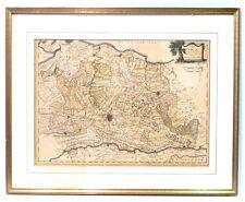 Utrecht/Amsterdam+Umgebung.Kupferstichkarte dat. 1787 b.Homann Erben,koloriert