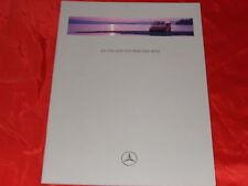 Mercedes w638 V-Klasse v230 + v230 TD folleto y lista de precios de 1996