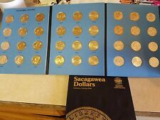 Complete 36 Coin Collection UNC! 2000-2017 P&D Sacagawea Native American Dollars