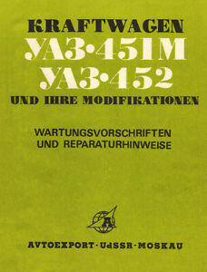 UAZ 451M, UAZ 452 Buchanka 🔧 Reparaturhandbuch, Anleitung Deutsch, Vanlife, Bus