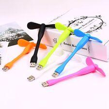 Portable Flexible USB Mini Cooling Fan Cooler For Laptop Desktop Computer