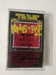 KINGS OF RAP CASSETTE SONGS BY THE FAT BOYS, RUN D.M.C. NAD MORE