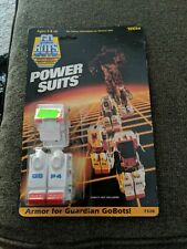 Tonka Gobots Gbp4 Power Suits Armor For Guardian Gobots Made In Japan 1985