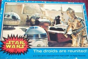 Topps Star Wars Cards Series 1 (Blue) 1 - 66 - Pick your card. 4 for 3 offer.