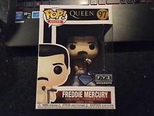 Funko Pop Vinyl Rocks Freddie Mercury Diamond Collection Fye Exclusive C9+