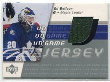 2002-03 Upper Deck Game Jersey Series II EB Ed Belfour Jersey