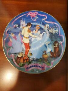Disney's Musical Memories, Cinderella's Wish Come True Collector Plate W/ COA