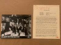 Atlanta Rhythm Section 1978 Original Polydor Records 3 Page Bio & Press Photo
