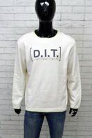 Maglione Uomo DIESEL Taglia Size XL Pullover Cardigan Sweater Man Bianco