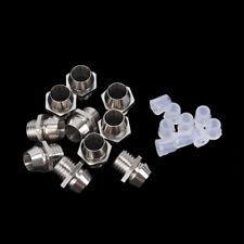 New Listing10pcs 3mm Led Lamp Holder Led Diode Metal Holder Luminous Tube Holdersv