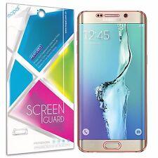 [2 Pack] Samsung Galaxy S6 Edge+ Plus Clear Anti-Scratch Full Screen Protector