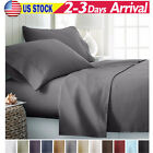 2100 THREAD COUNT 4 PIECE BED SHEET SET ALL COLORS - Better Than Egyptian Cotton