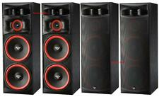 2 NEW PAIR (4) Cerwin Vega XLS-215 Home Theater Floor Standing Tower Speakers DJ