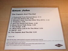 ELTON JOHN - THE CAPTAIN AND THE KID!!FRENCH ONLY CD
