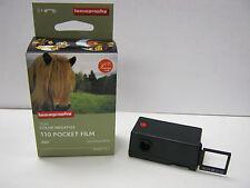Lomography Tiger Color 110 Pocket Film 3 Pack ISO 200 24 exp + FREE Camera Lomo