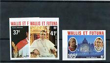WALLIS & FUTUNA IS Sc C84-6(YT A86-8)**VF NH IMPERF $36