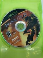 Halo 2 (Xbox, 2004) Disc Only Tested Works Microsoft Bungie