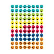 Creative Teaching Press Bright Smiles Hot Spot Stickers, 880/Pack