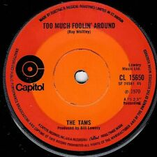 "NORTHERN SOUL - TAMS - TOO MUCH FOOLIN'  AROUND - UK CAPITOL -  ""HEAR"""