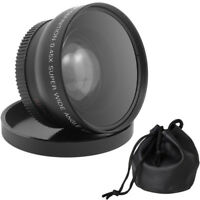 58mm 0.45x 58 Wide Angle & Macro Conversion Lens with 62mm Front Thread + Cap