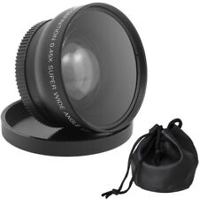 58mm 0.45x 58 Wide Angle & Conversion Macro Lens with 62mm Front Thread + Cap#