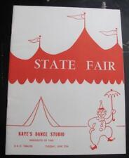 1963 Kaye Gorham Dance Studio FLUSHING NY Program RKO Dancing Costume Girls