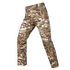 Army Combat Mens Pants Soft Shell Warm Trousers Waterproof Cargo Hiking Casual