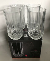 Highball Glass Longchamp by Cristal D'Arques-Durand, 12 Oz