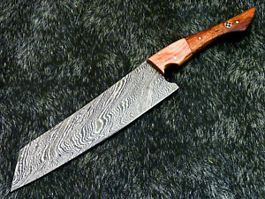 """12"""" Kitchen Chef Knife """"Handcrafted Damascus Steel Blade"""" Multi Purpose WD-5759"""
