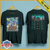The Hella Mega Tour 2020 Green Day Weezer Fall Out Boy T Shirt Unisex tee S-6XL