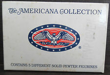 Liberty Falls Americana Collection 1994 Set of 5 Solid Pewter Figurines AH48