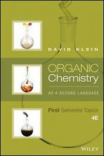 Klein Organic Chemistry as a Second Language : First Semester Topics PDF