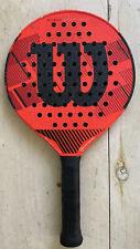 Wilson Steam Smart Countervail Platform Tennis Paddle No Grit Zone 4 1/4 370 g