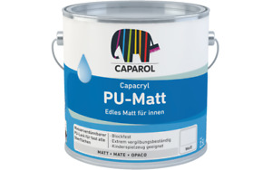 CAPAROL Capacryl PU Matt smalto acrilico base bianco - colori a scelta