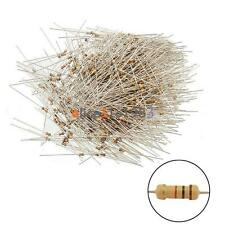 100PCS Film Resistors Resistance 10K Ohms OHM 1/4W 5% Carbon Film Assortment NEW
