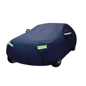 "185"" Sedan Full Car Cover Waterproof Outdoor Protection UV Rain Dust Resistant"