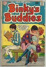 BINKY'S BUDDIES #1 (Hippie Comics, Buzzy and Benny Back-Up Stories) DC, 1969