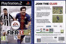 FIFA 13 - PS2 NUOVO E SIGILLATO, PRIMA EDIZIONE ITALIANA, DA COLLEZIONE, RARO!