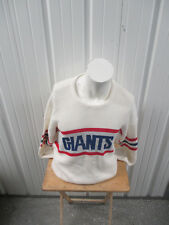 VINTAGE CLIFF ENGLE LTD NEW YORK GIANTS XL KNIT SWEATER ACRYLIC 80s BILL PARCELL