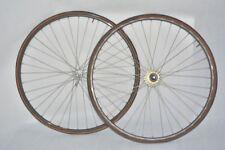 vintage CAMPAGNOLO + mavic g40 wheelset !! 28' ! 700c ! CLINCHER !