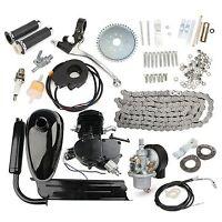 80cc 2-Stroke Cycle Motorized Bike Black Body Engine Motor Kit