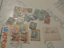 Italia Rep. Lotto 20 Alti Valori come da foto in lire