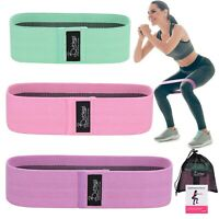 Fabric Resistance Bands Non-Slip,Thick&Wide Booty Workout Exercise Bands - USA