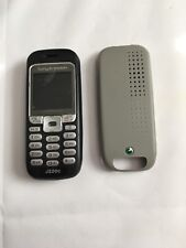 sony ericsson J220a Black cellphones phone and cover